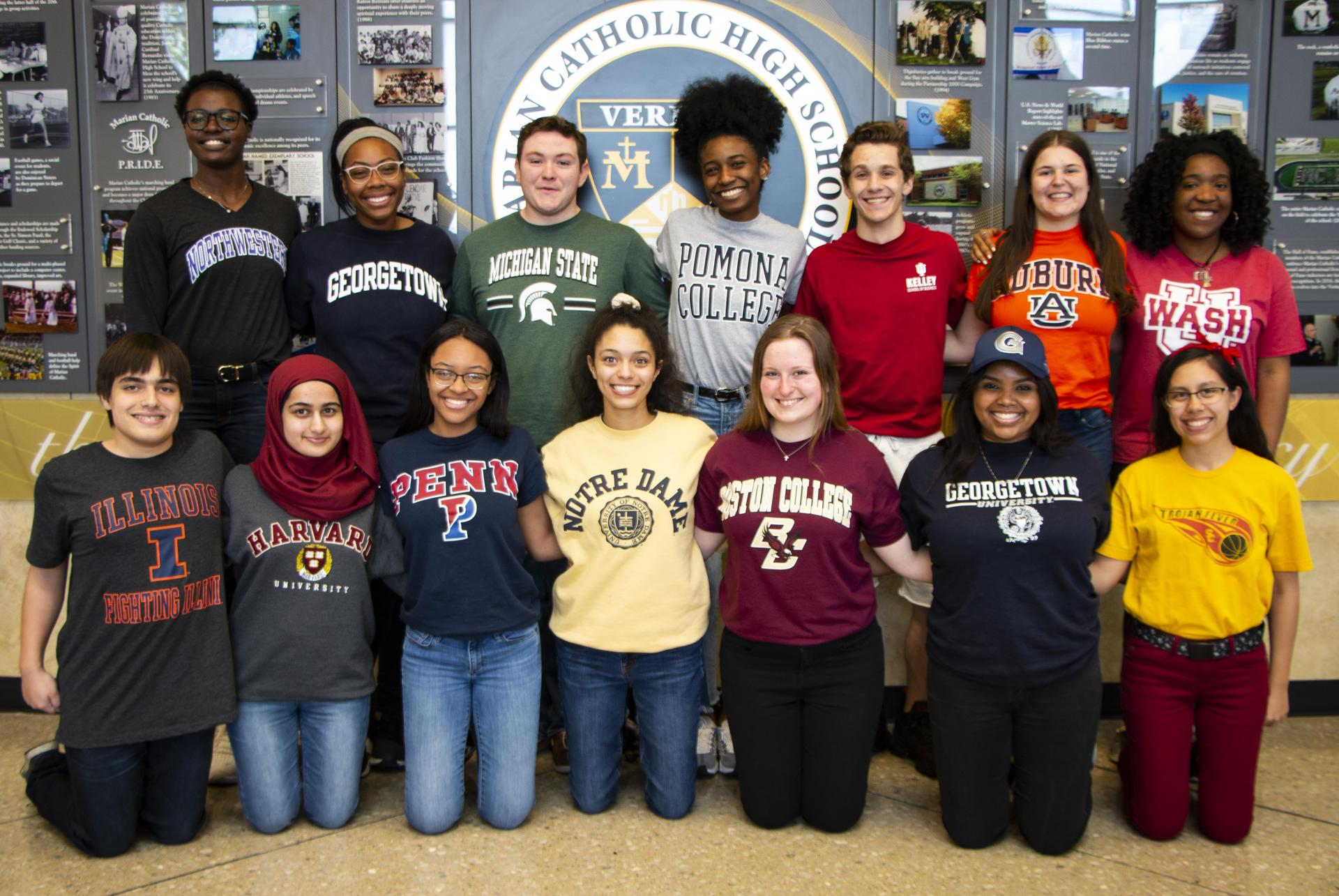 scholarships, tuition assistance, application, Marian Catholic, students