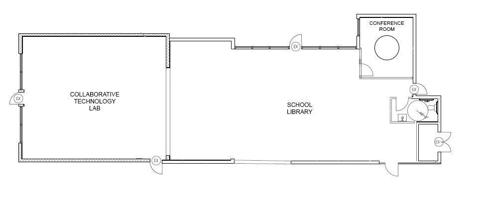 Raad Learning Center floorplan