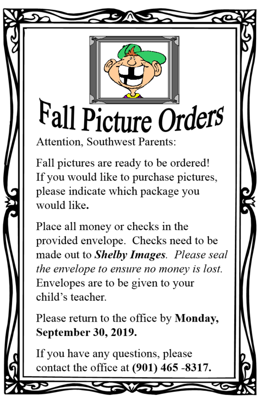 Fall Picture Orders Thumbnail Image