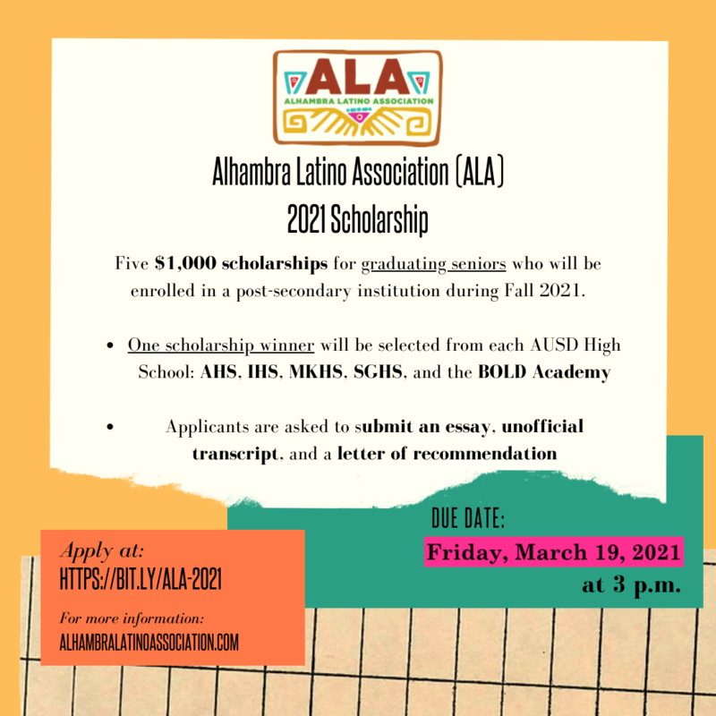 ALA Scholarship Deadline Extended Featured Photo