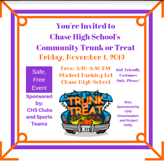CHASE High School Trunk or Treat Featured Photo