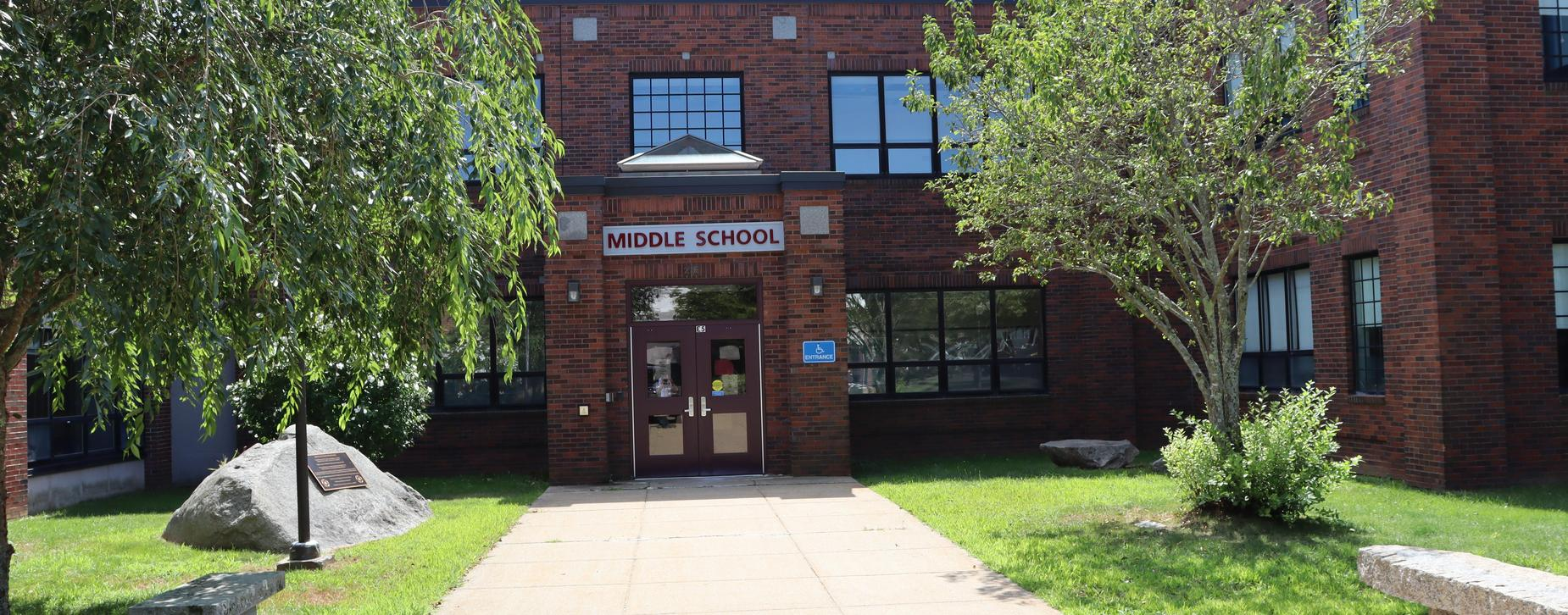 Entryway Rockport Middle School