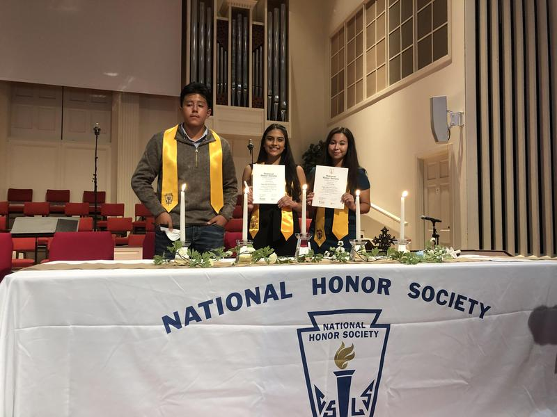 National Honor Society Induction Featured Photo