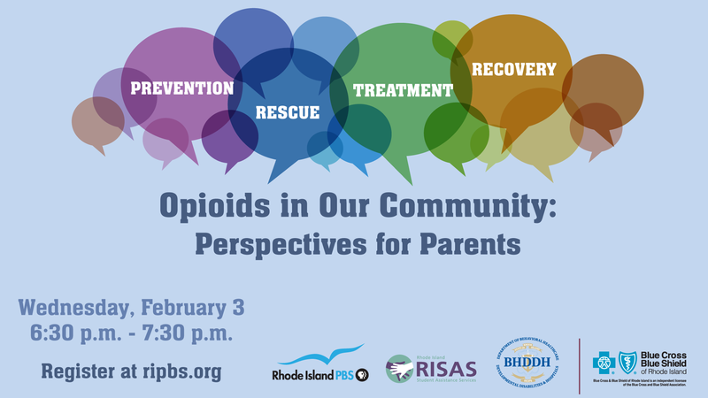 Opioids in Our Community: Perspectives for Parents -- On Zoom Wednesday,February 3,2021, from6:30 p.m.to7:30 p.m Featured Photo