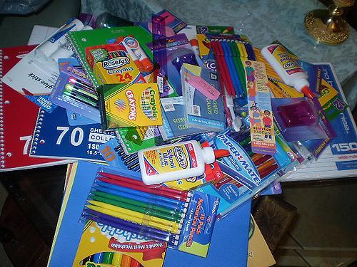 School supplies image