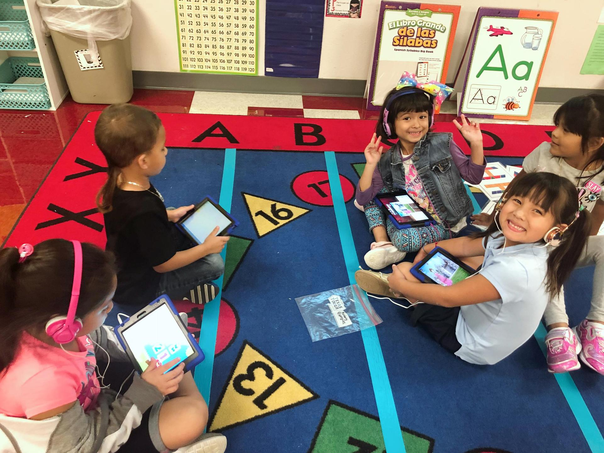 Image of students learning