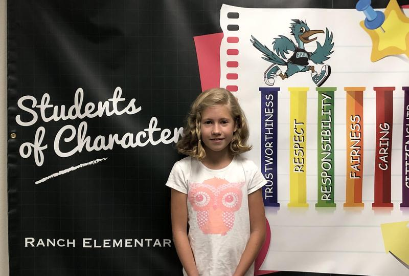Lea Oitzman Student of the Month