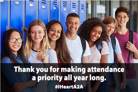 Thank you for making attendance a priority.