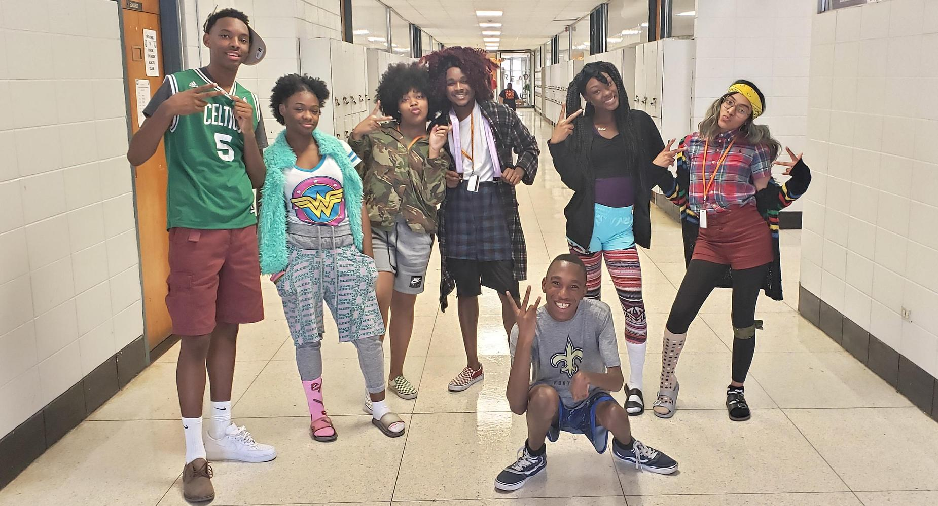 Homecoming Wacky Tacky Day