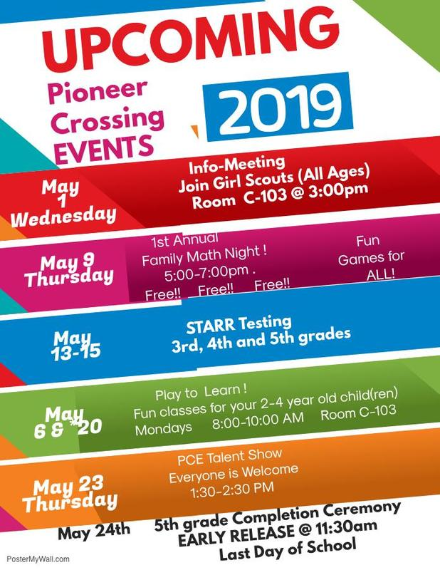 Upcoming Events at PCE! Thumbnail Image