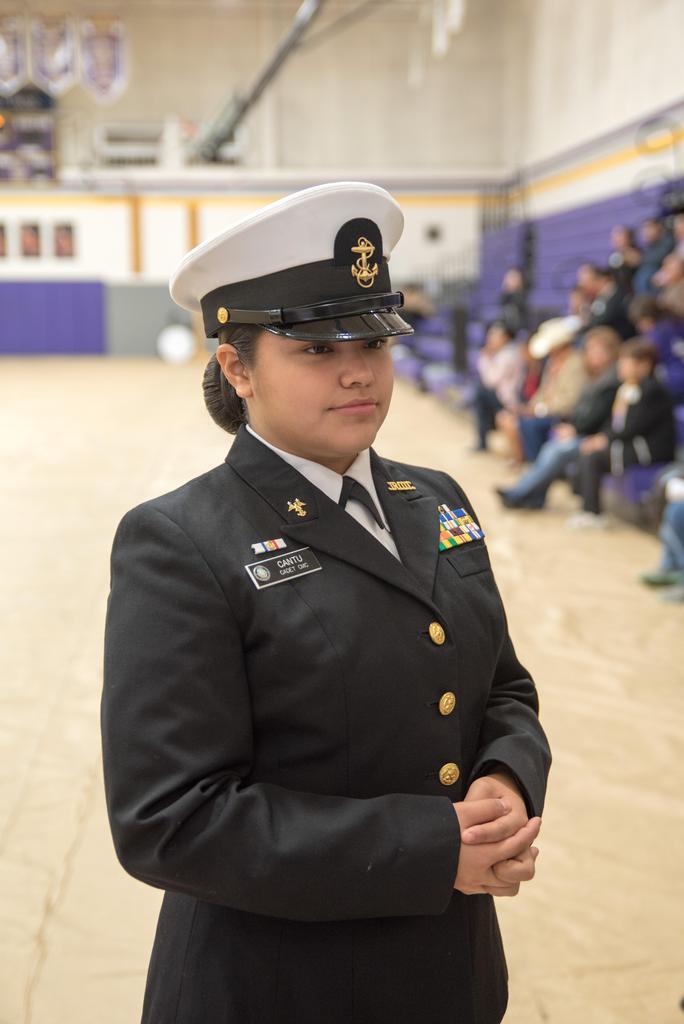 NJROTC Military Inspection