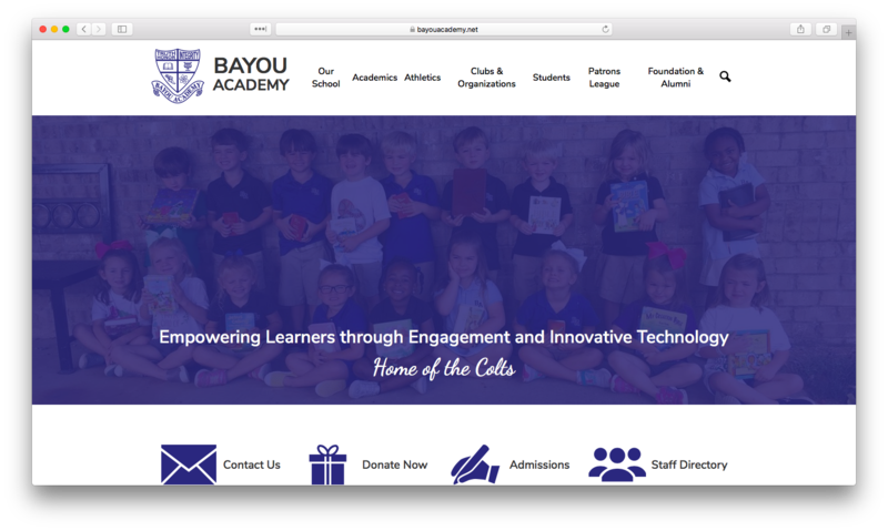 School Website Design of the Week: 12/5/2019 Featured Photo