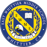 East Whittier Middle School logo