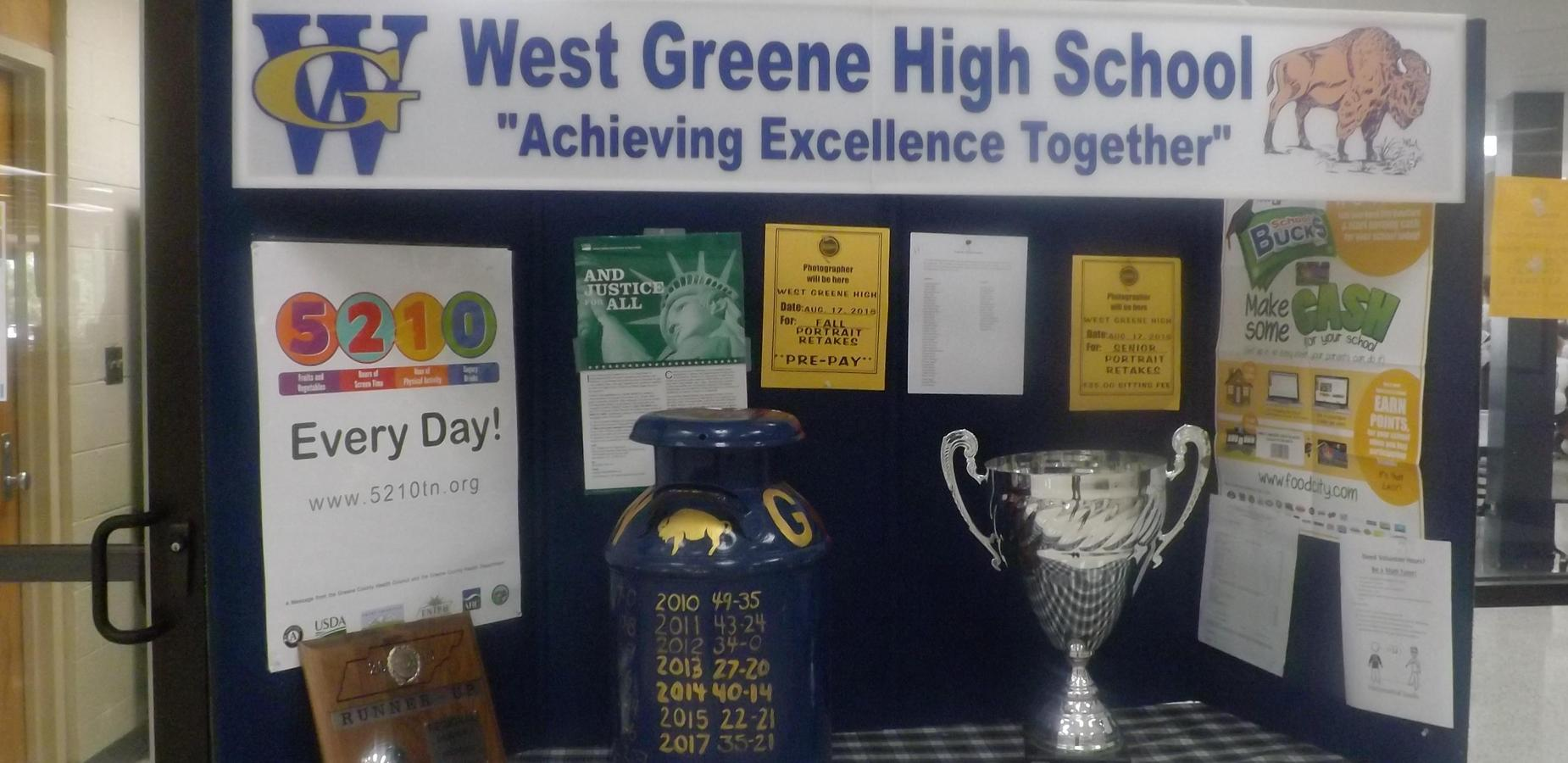 WGHS Lobby Display