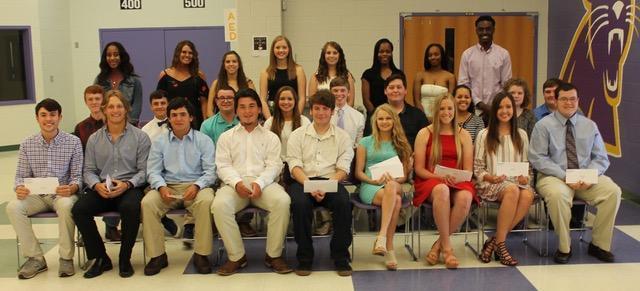 2017 Scholarship Tea Recipients