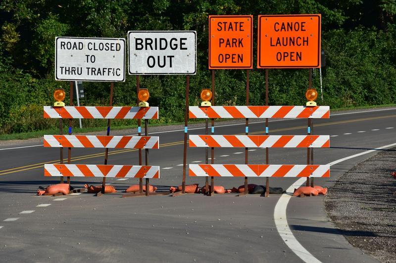 Cherry Creek Bridge Closed Featured Photo