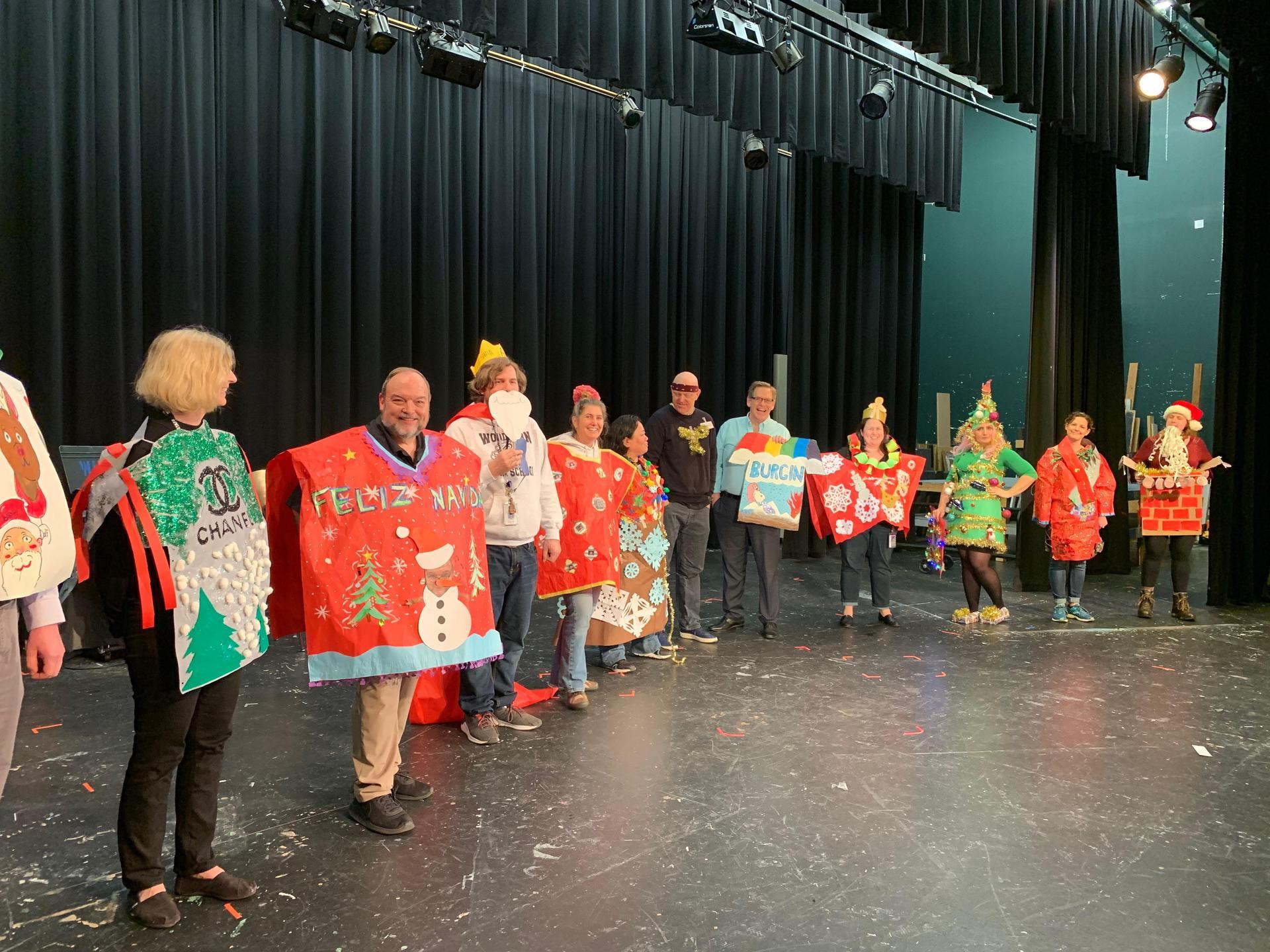 Winter Assembly- Staff Photo