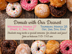 Donuts for Our Dearest Image, text in link