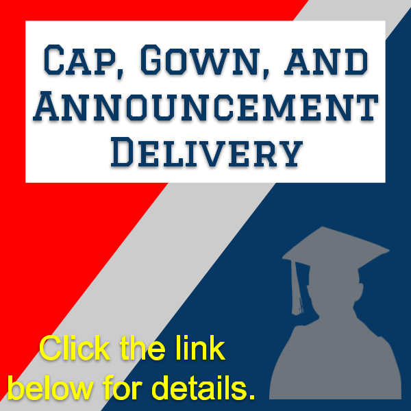 Cap, Gown, and Announcement Delivery Schedule Featured Photo