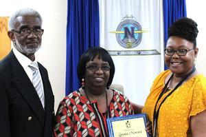 NASD Honors Retiree Lovonia Howard