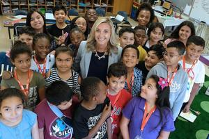 Southwest Learning Community Principal of the Year Emily Miles