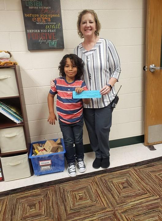 our First ALL IN for Success winner of the year!