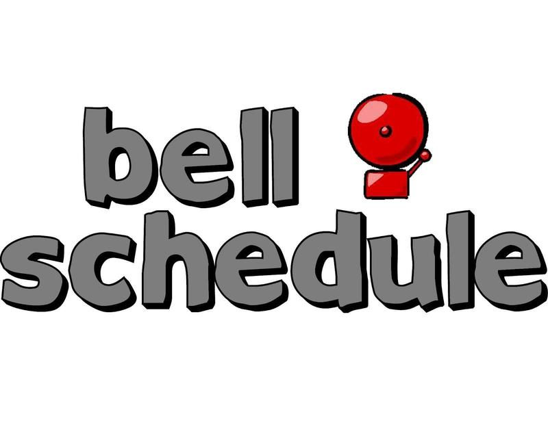BELL SCHEDULE FOR SY 2019-2020 Featured Photo