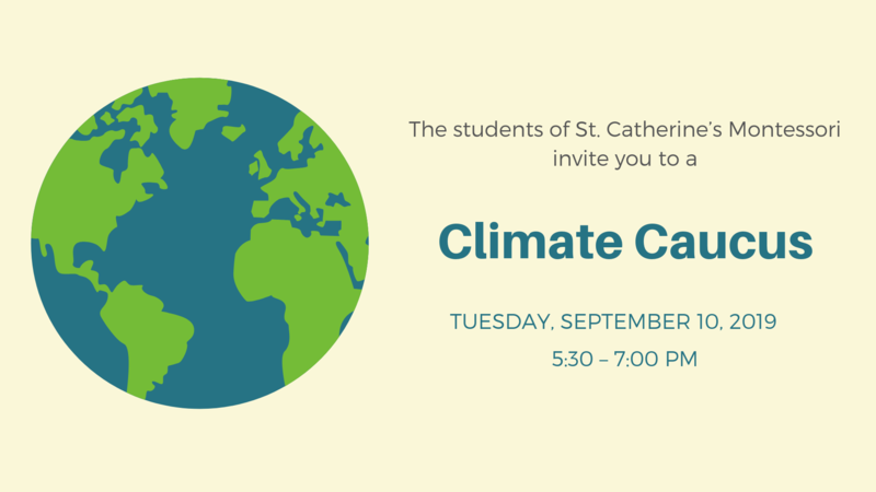 Students Organize Climate Caucus in Advance of Presidential Debate Featured Photo