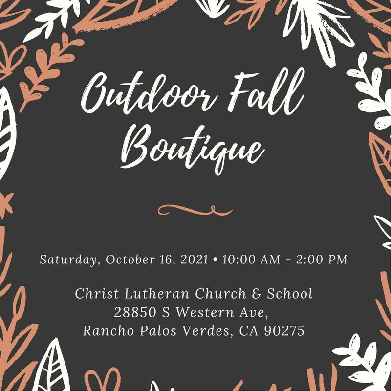 Outdoor Fall Boutique - October 16th 10am-2pm Featured Photo