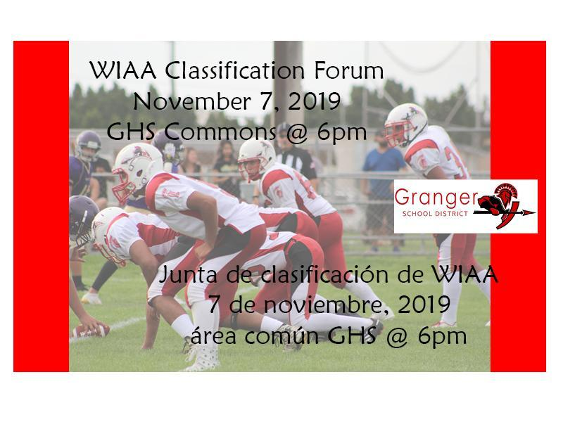 Photo about WIAA Community forum