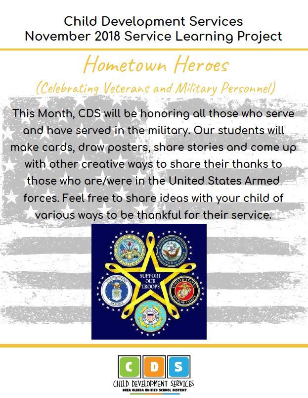 November 2018 - Hometown Heroes