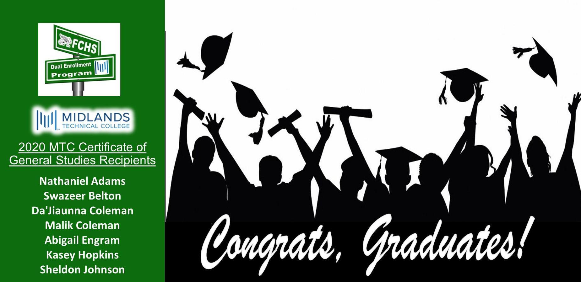 2020 DE Grads