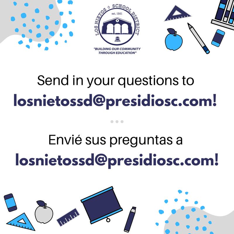 Send in your questions today! / ¡Mande sus preguntas hoy! Featured Photo