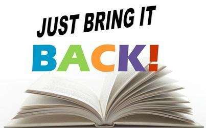 Just bring back books image