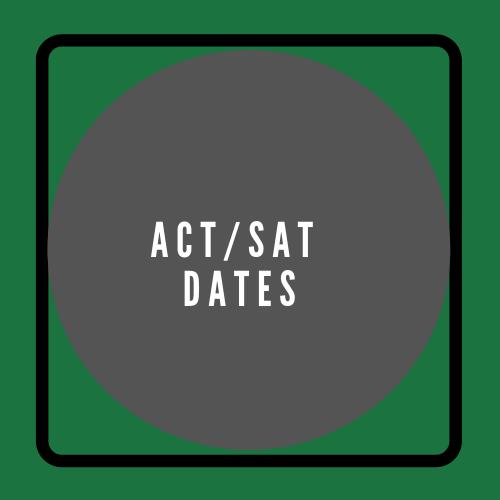 ACT/SAT Dates