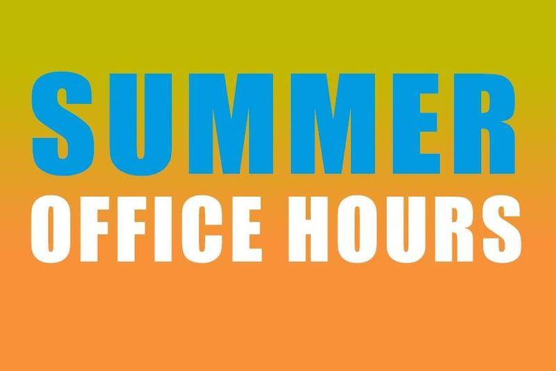 Summer Office Hours Featured Photo
