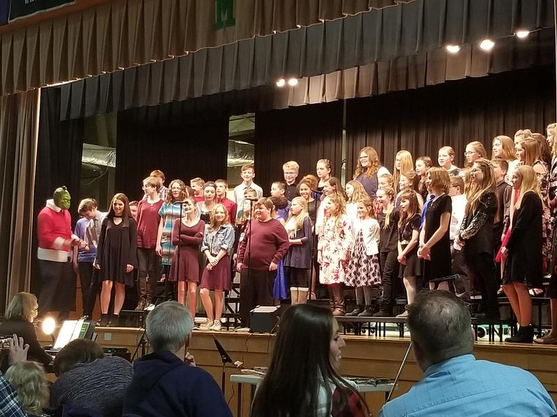 Middle School Bands and Choirs Perform Featured Photo
