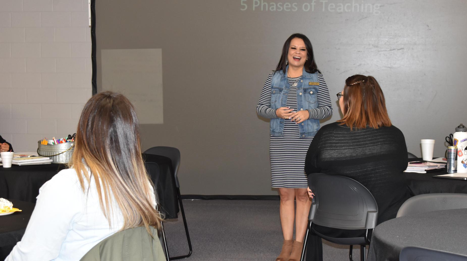 Dr. Suarez teaching