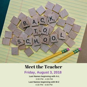 Meet the Teacher-DC