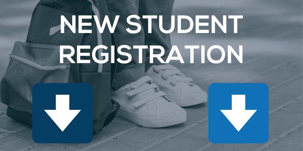 new student registration title