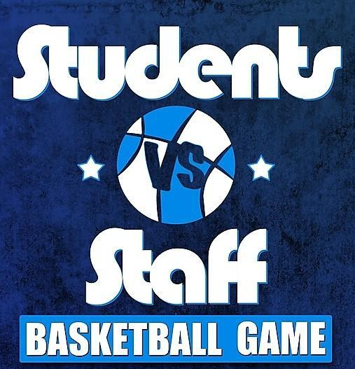 Students vs. Staff Basketball Game Featured Photo