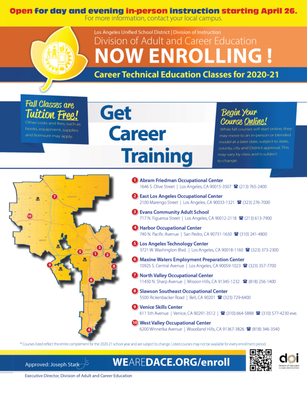 Now Enrolling for Careet Technical Education Featured Photo