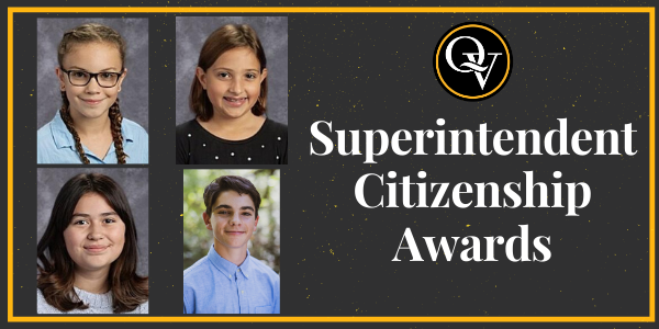 Superintendent Citizenship Awards