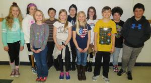 Fifth-grade students were presenters at a recent character assembly on fairness.