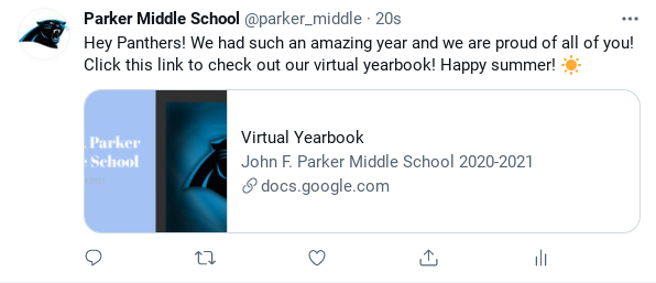 Parker Virtual Yearbook Featured Photo