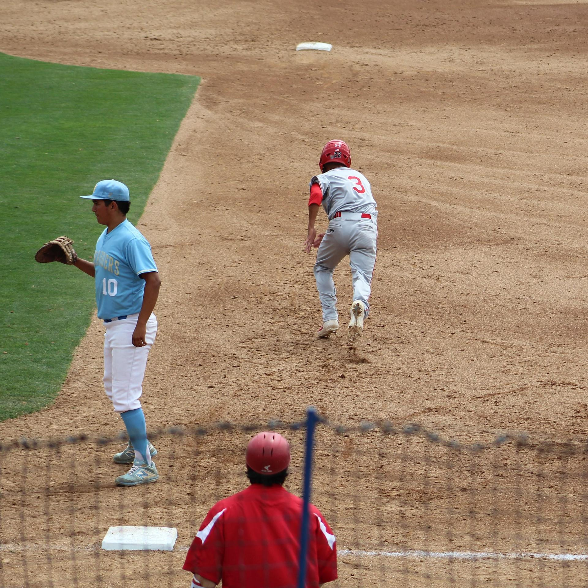 Ramos runs to second