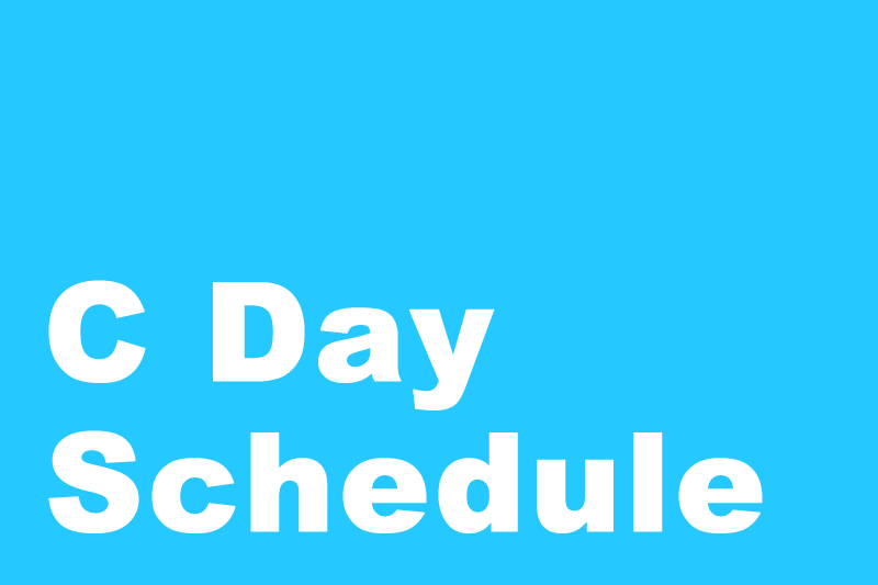 Image News C Day Schedule