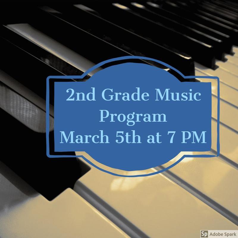 Second Grade Music Program Thumbnail Image