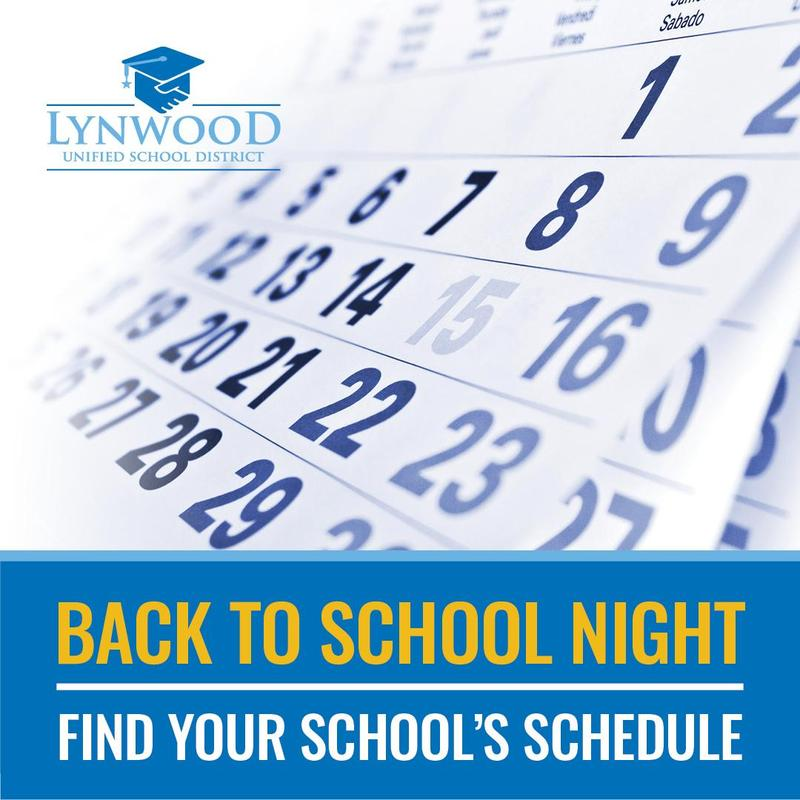 Back to School Night Schedule Featured Photo