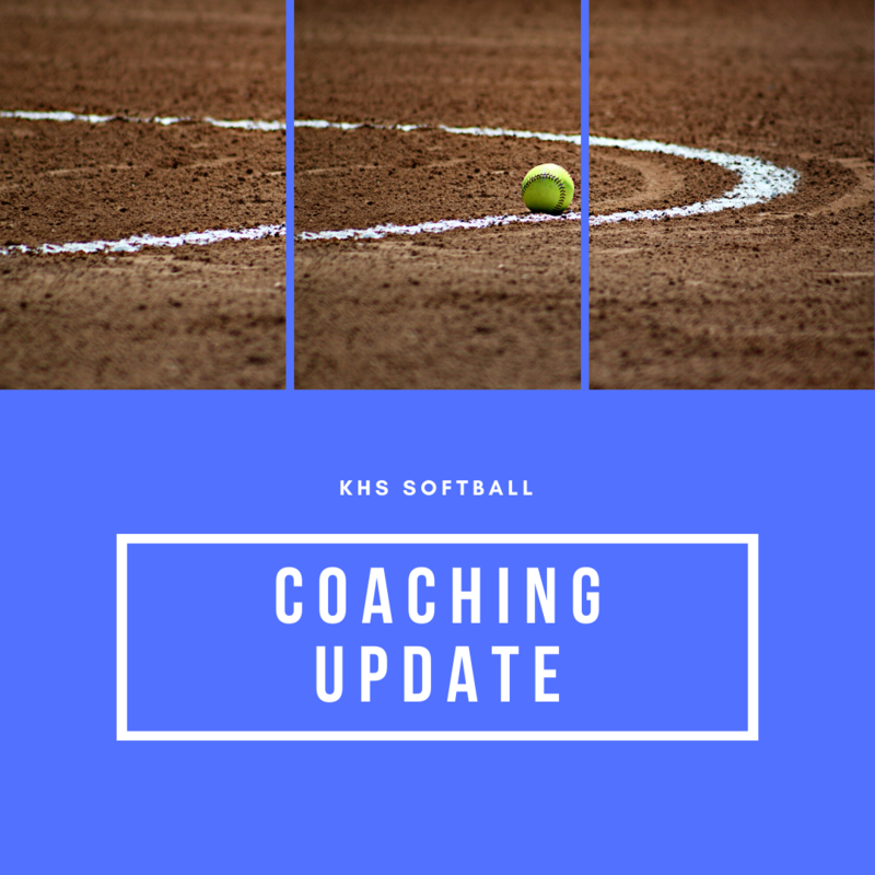 KHS Softball Announces New Head, Assistant Coaches Featured Photo